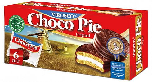 Печенье Choco Pie Original VIROSCO 6 шт.